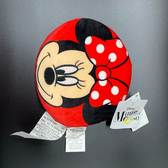 Mini mouse pillow for Baby. Color  red
